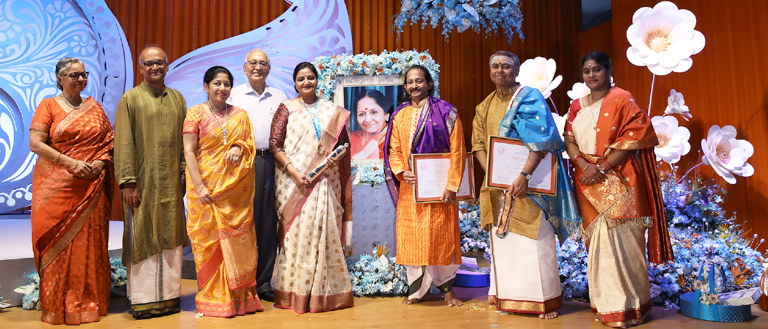 Indira Sivasailam Endowment medal bestowed on Pantula Rama